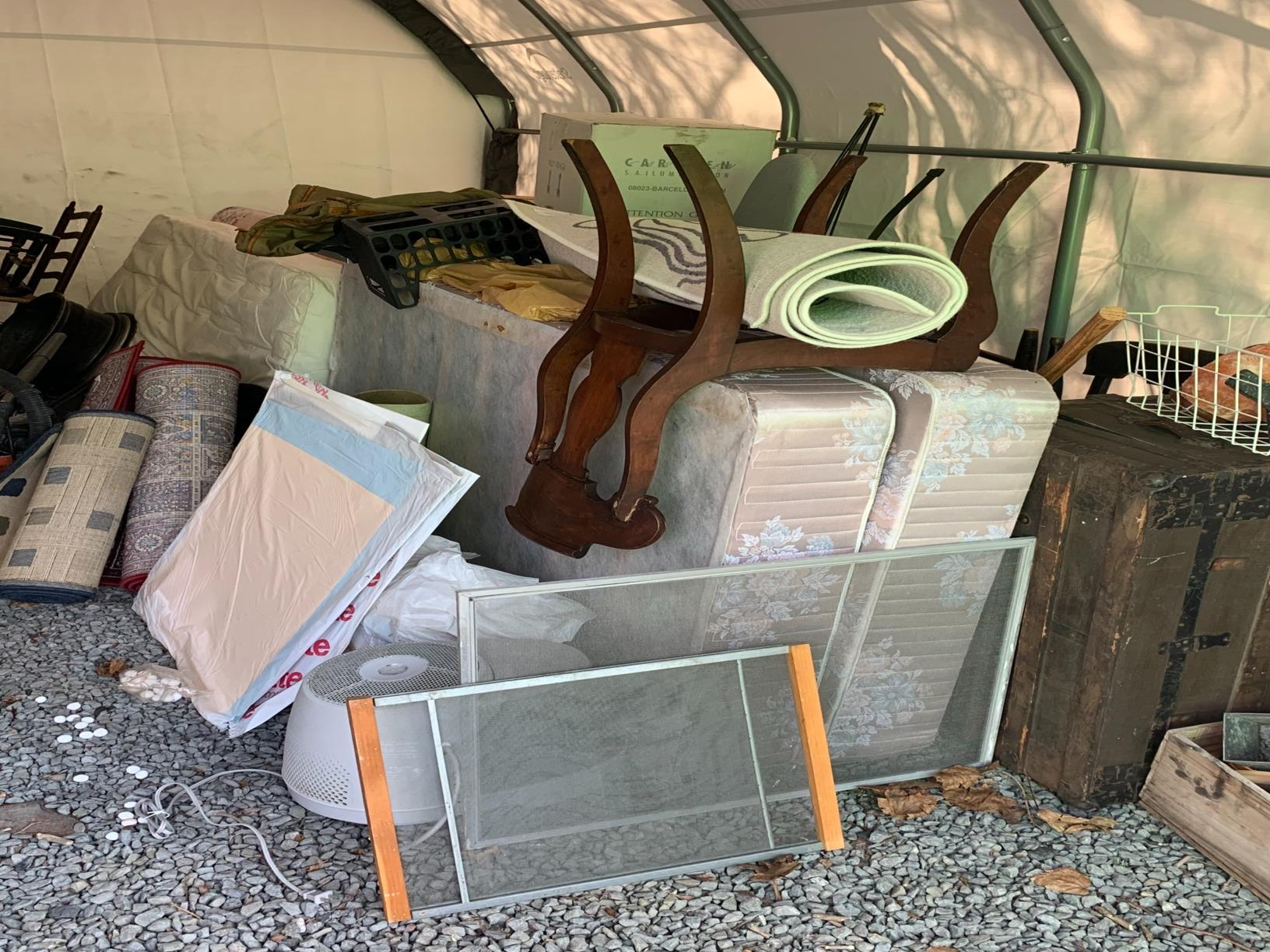 Junk Removal in Westwood, MA - Before Photo
