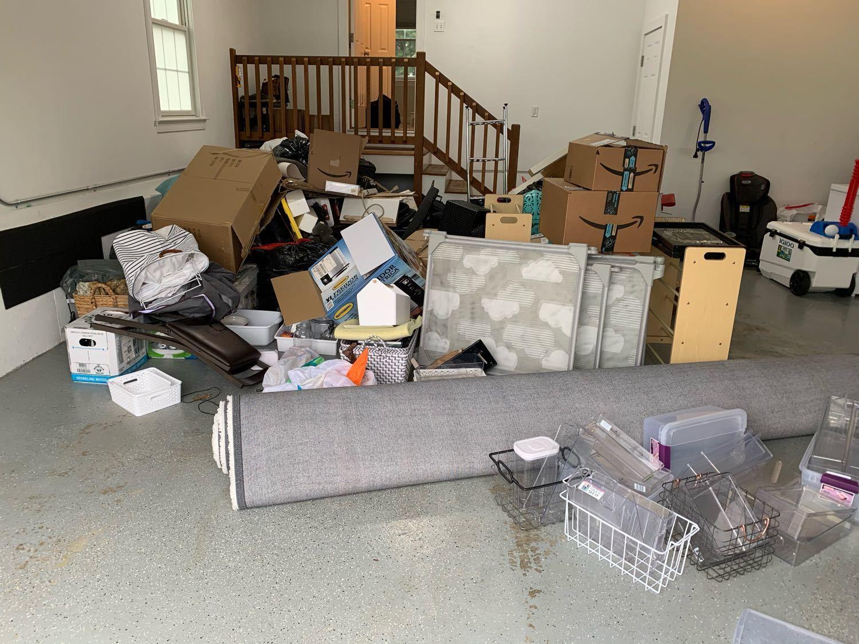 Foxborough, MA Junk Removal - Before Photo