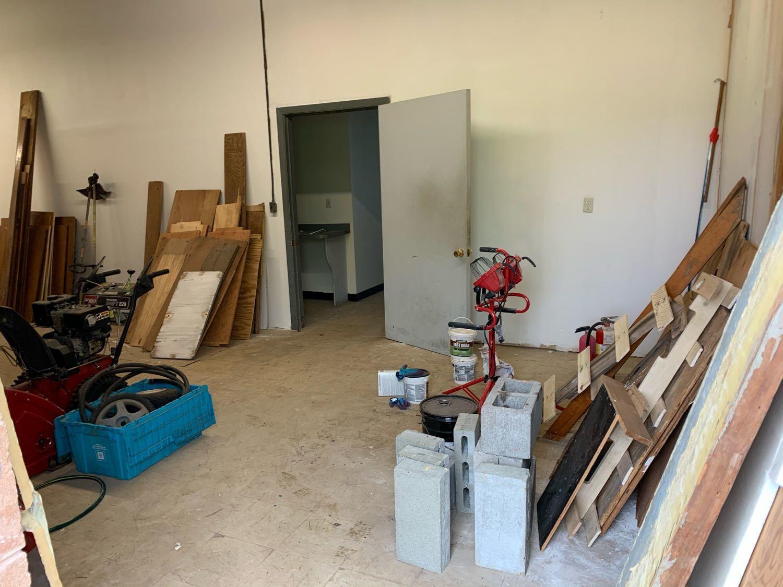 Brockton, MA Renovation Cleanout Service - Before Photo