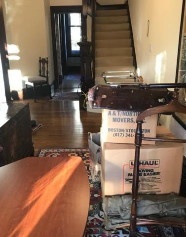 Furniture removal in Brookline, MA