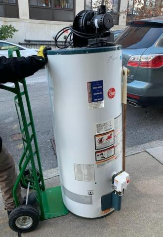 Water Heater Removal in Boston, MA