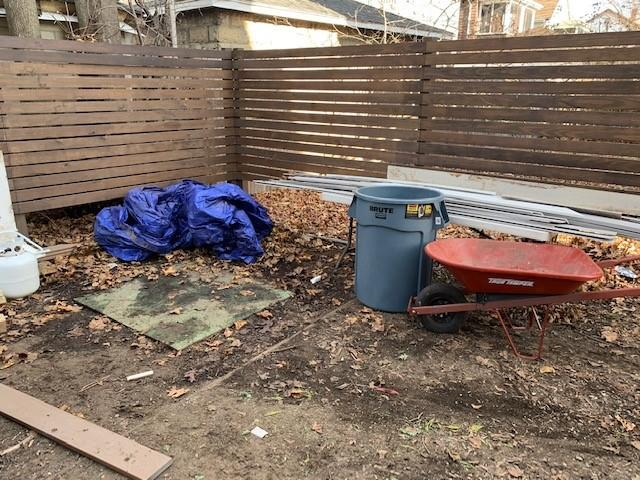 Yard clear-out in Medford, MA