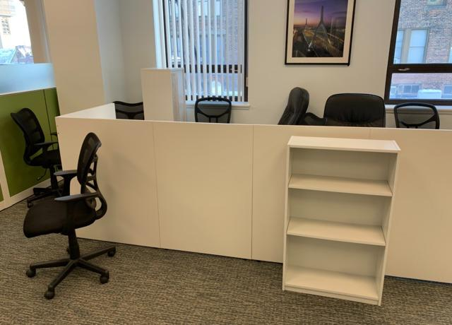 Office clean out in Boston, MA