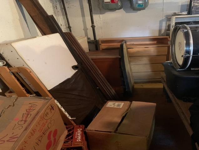 Basement Cleanout in Needham Heights, MA