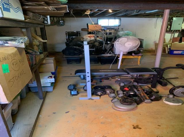 Basement organisation and cleanout, Needham Heights, MA - After Photo