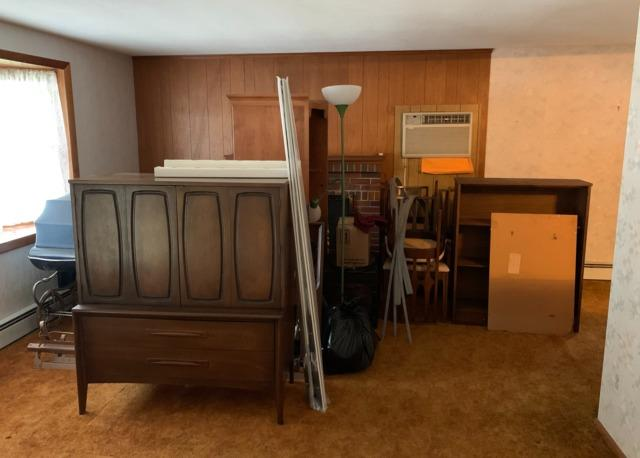 Estate cleanout in Franklin, MA - Before Photo