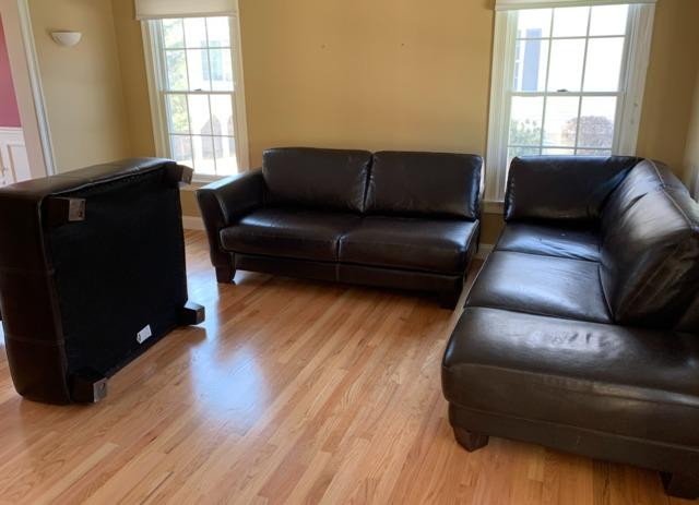 Furniture Removal in Needham Heights, MA - Before Photo