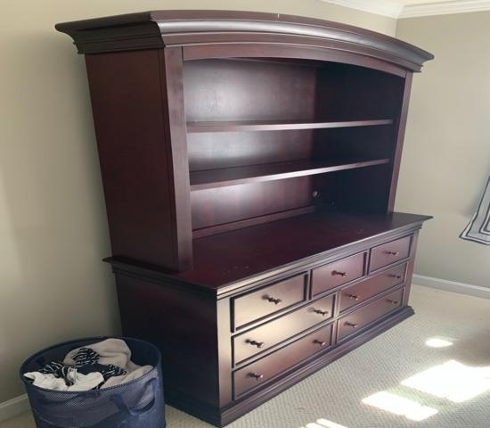 Furniture Removal in Franklin, MA - Before Photo