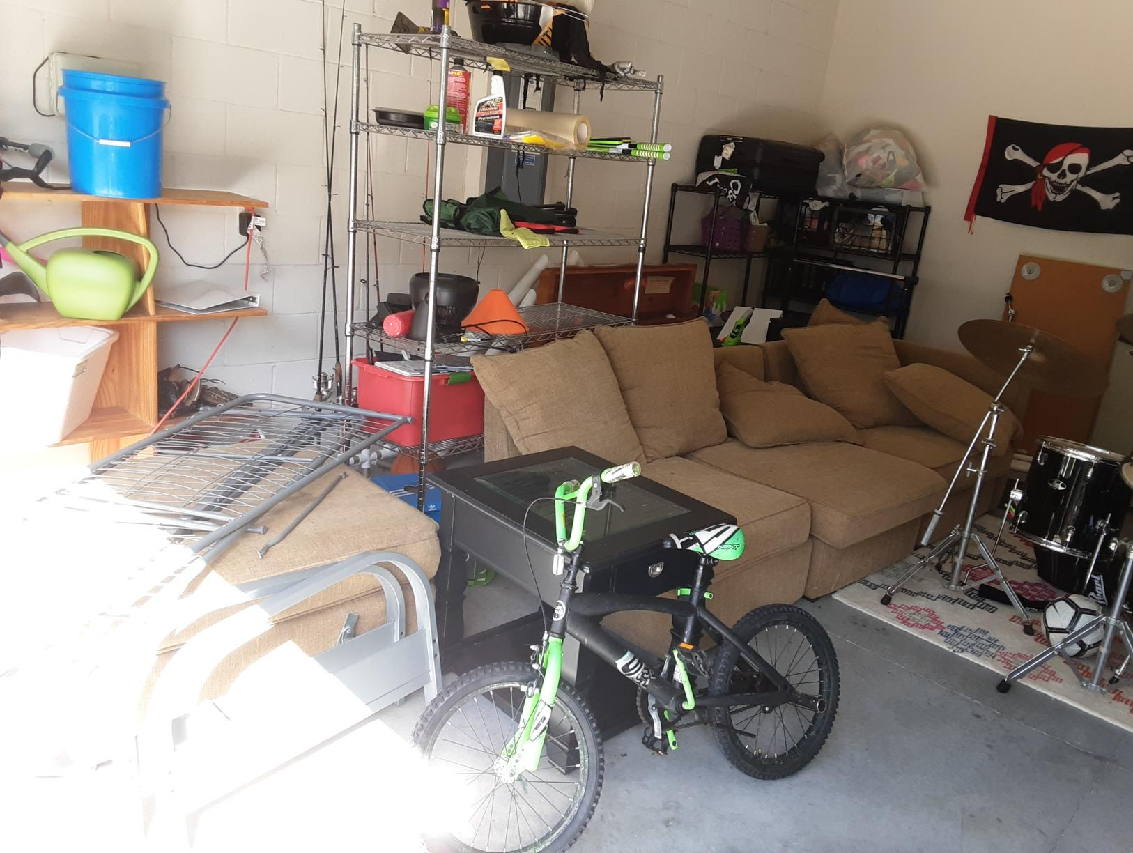 Garage Cleanout in Land O Lakes, FL! - Before Photo