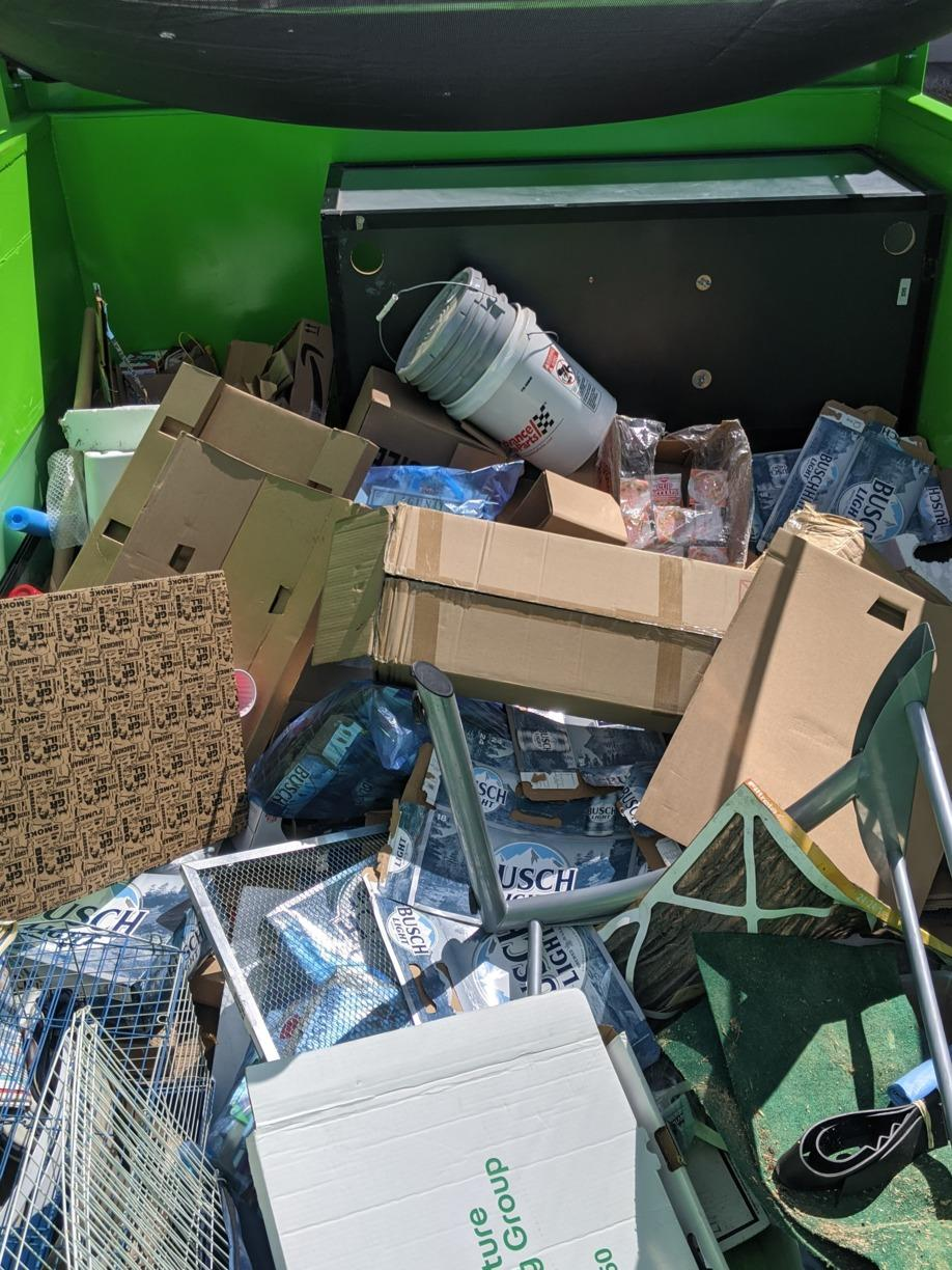 Garage Cleanout in Wesley Chapel, FL! - Before Photo