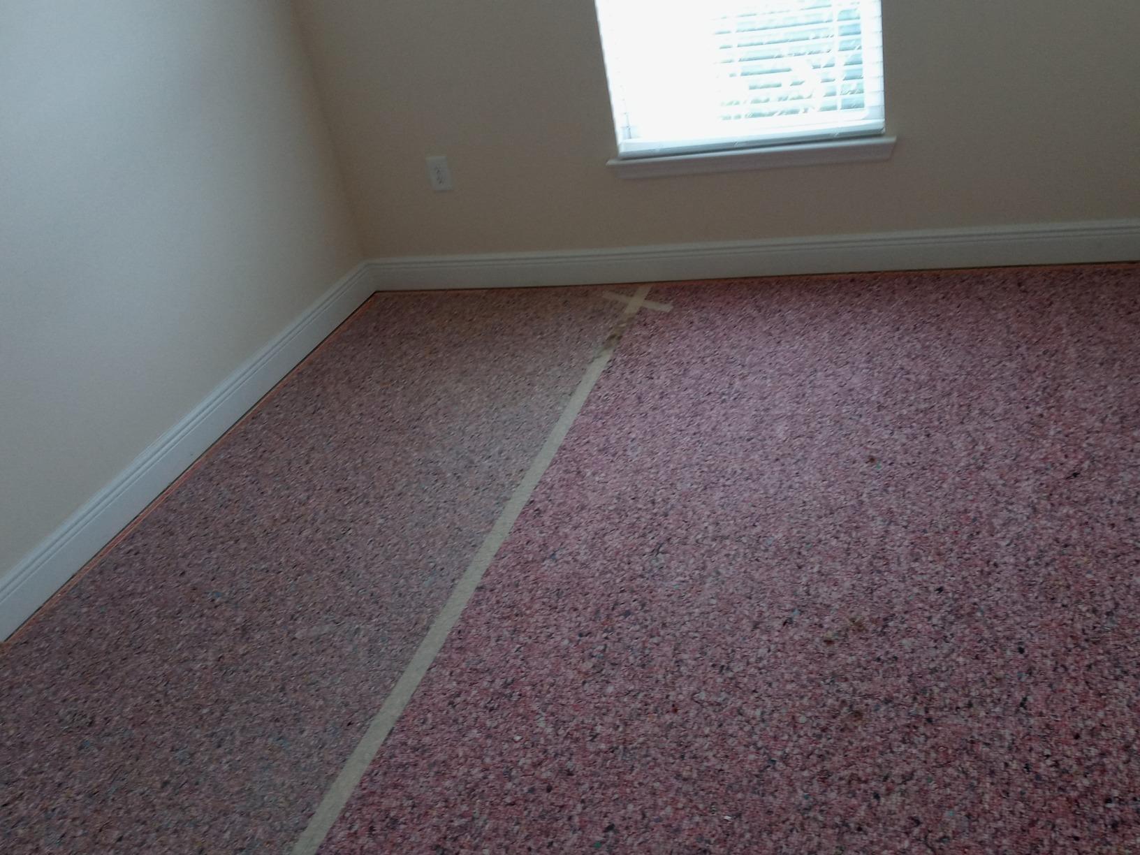Carpet Removal in Hudson, FL! - Before Photo