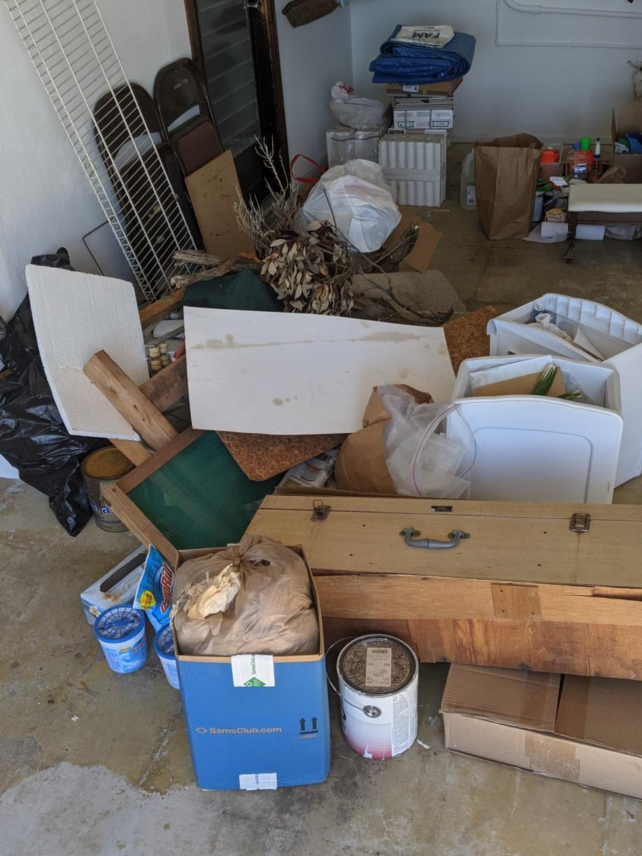 Garage Cleanout in New Port Richey, FL! - Before Photo