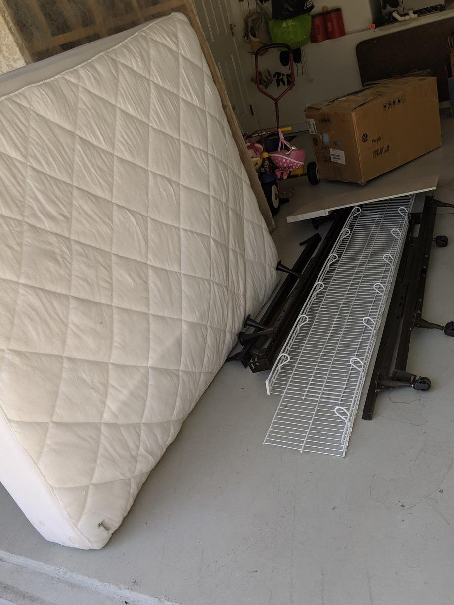 Mattress/Box Spring removal in Wesley Chapel, FL! - Before Photo