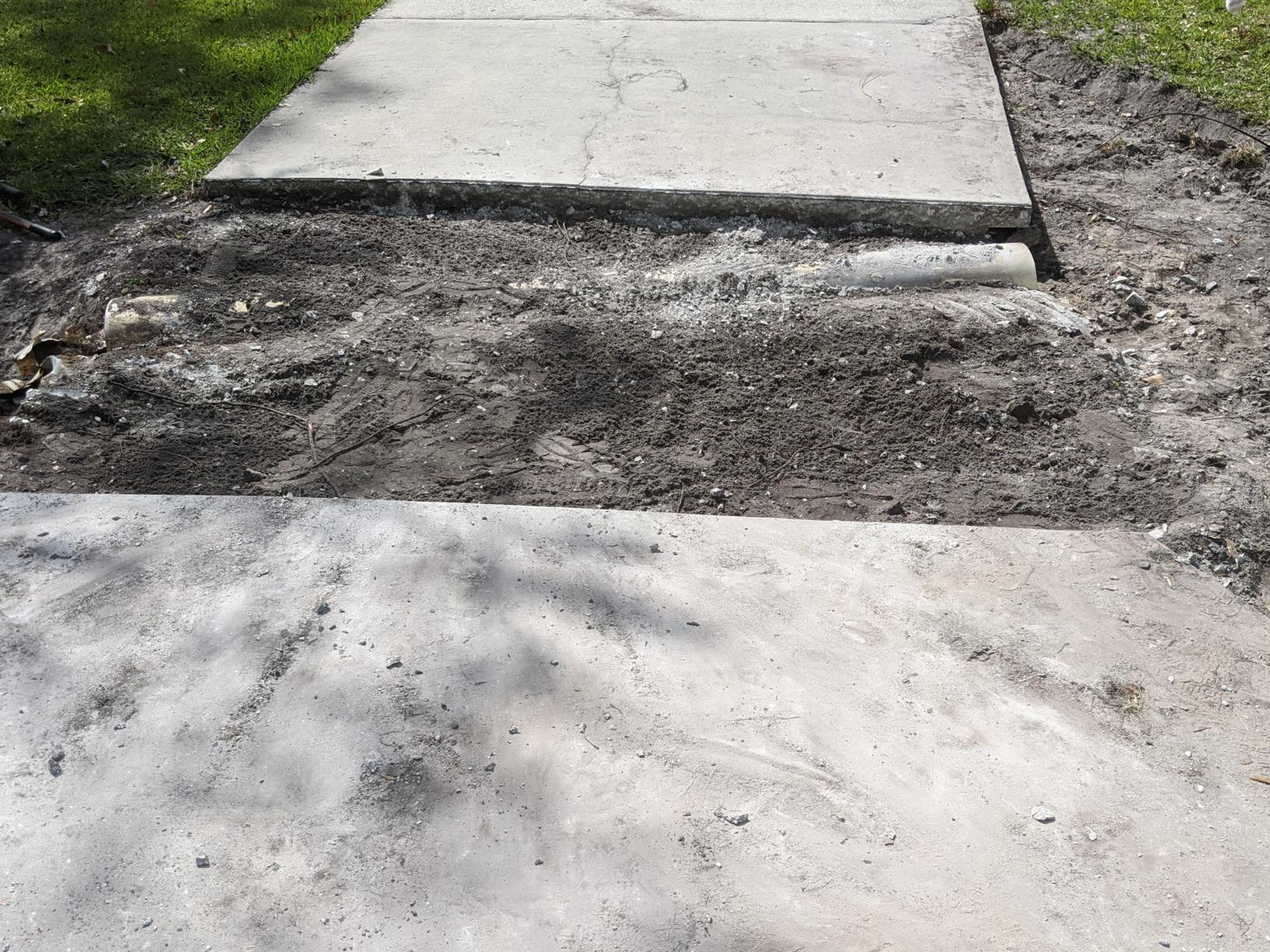 Concrete Removal in Wesley Chapel, FL! - After Photo