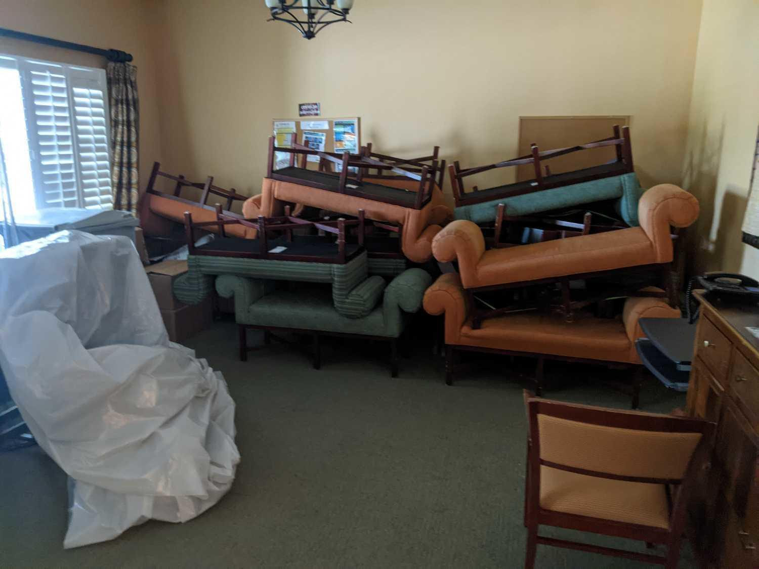 Office Cleanout in Lutz, FL! - Before Photo