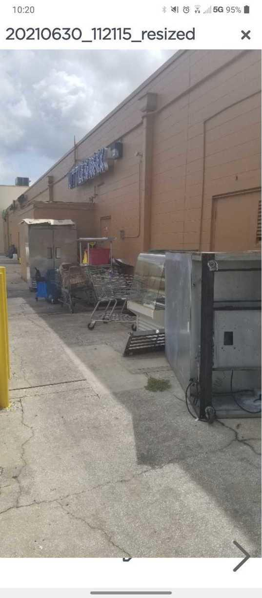 Commercial Restaurant Cleanup in Palm Harbor, FL! - Before Photo