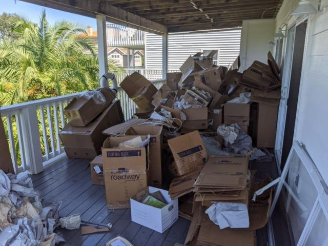 Move-in day cleanup in Tarpon Springs!