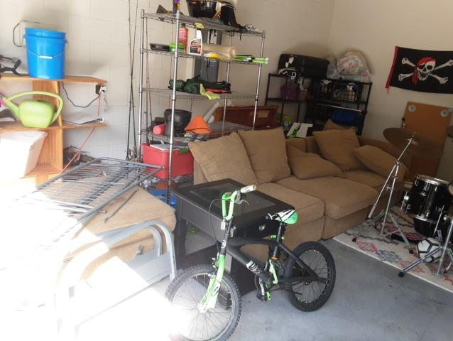 Garage Cleanout in Land O Lakes, FL!