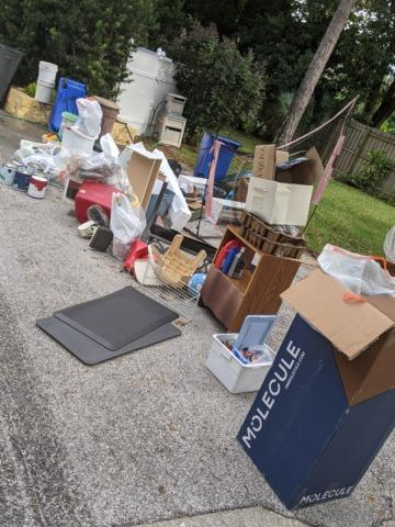 Moving out? Clean out! in Tarpon Springs, FL!