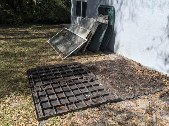 Yard Debris Cleanup in Land O Lakes, FL!