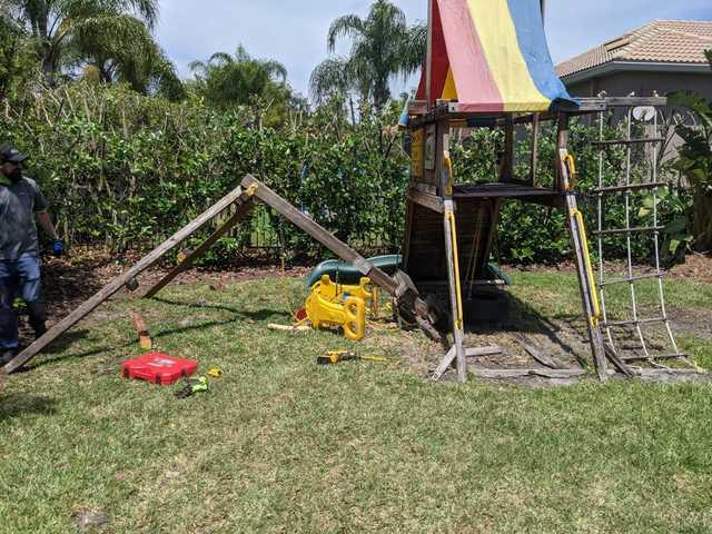 Playground Removal in Tampa, FL!