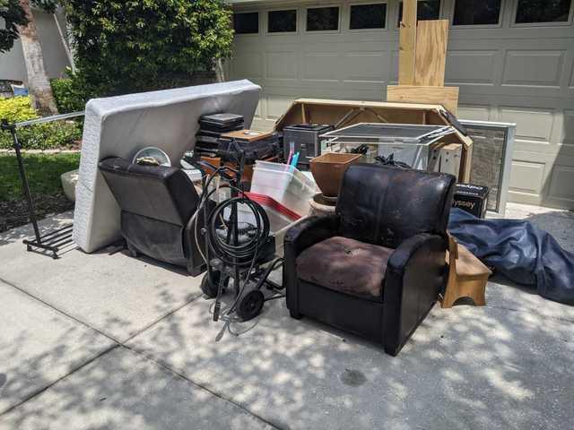 Curbside Furniture Hauling in Clearwater, FL!