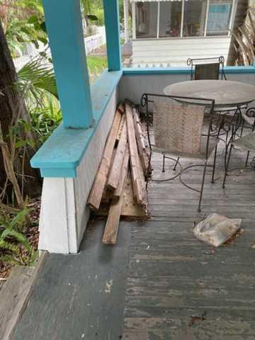Porch Cleanup in Tampa, FL!