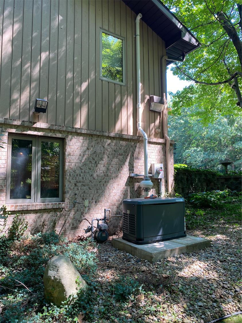 LaPorte Radon Mitigation - After Photo