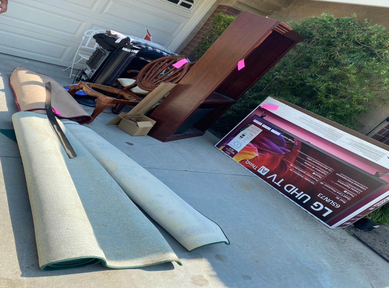 Junk Removal in Trabuco Canyon, CA - Before Photo