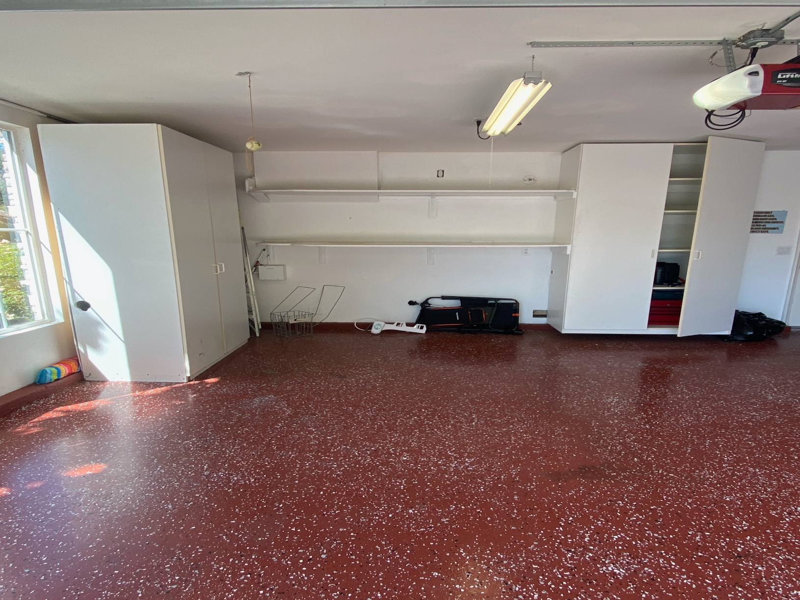 Garage Storage Unit Removal in Trabuco Canyon, CA - Before Photo