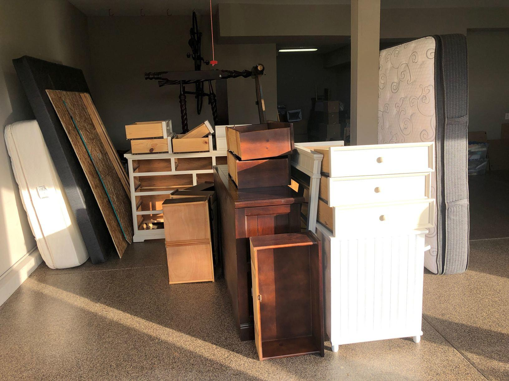 Garage Clean Out in Yorba Linda, CA - Before Photo
