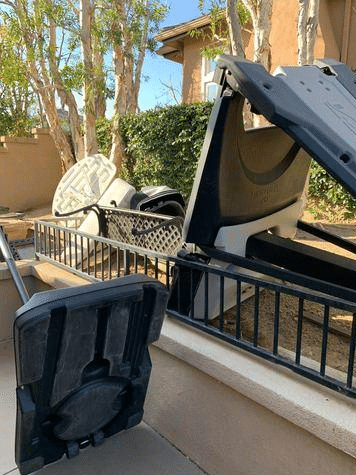 Curbside Junk Removal in Anaheim HIlls, CA