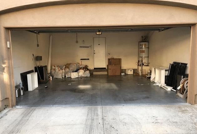 Garage clean out Irvine, CA