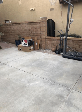 Curbside Junk Removal in Irvine, CA