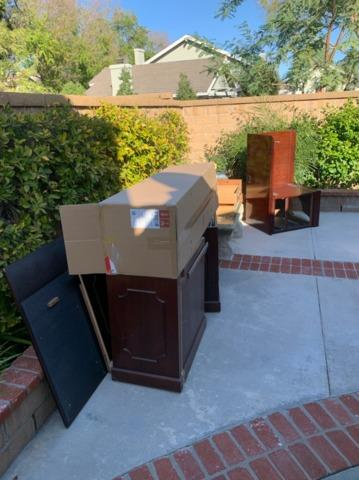 Junk Removal in Yorba Linda, CA - Before Photo