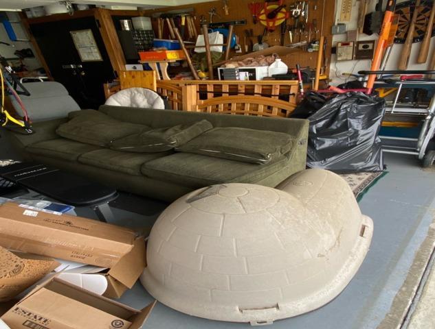 Garage Item Removal in Orange, CA