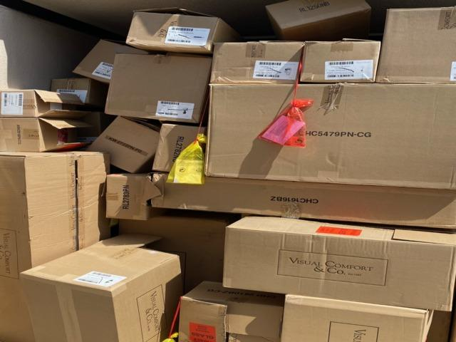 Lighting Store Clean-Out in Laguna Niguel