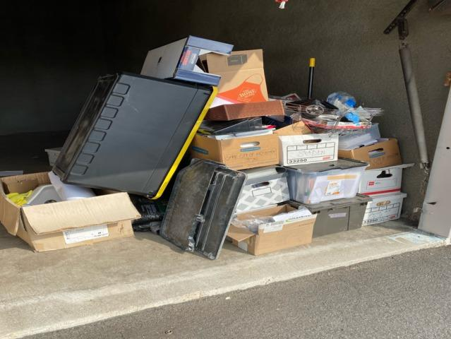 Storage Unit Clean-Out in Irvine, CA