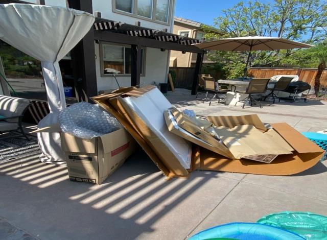 Box and Packaging Removal in Rancho Santa Margarita, CA