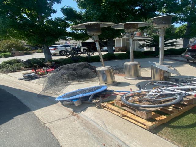 Driveway Junk Removal in Villa Park, CA