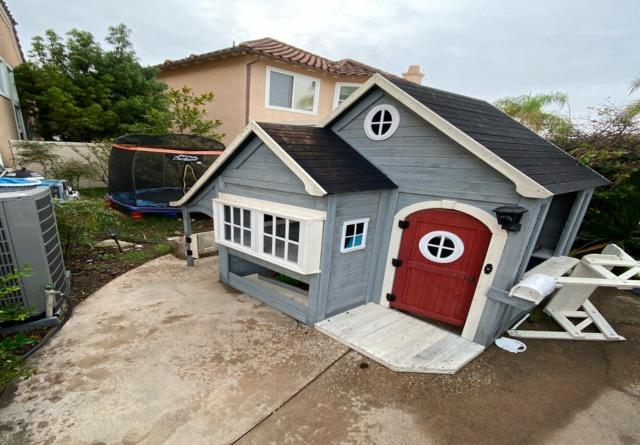Kids Playhouse Removal in Trabuco Canyon, CA - Before Photo