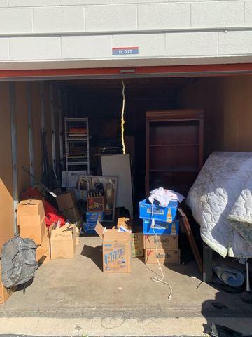 Storage Unit Cleanout in Orange, CA