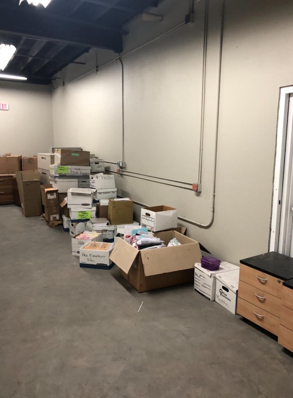 Warehouse Cleanout, Las Vegas, NV - Before Photo