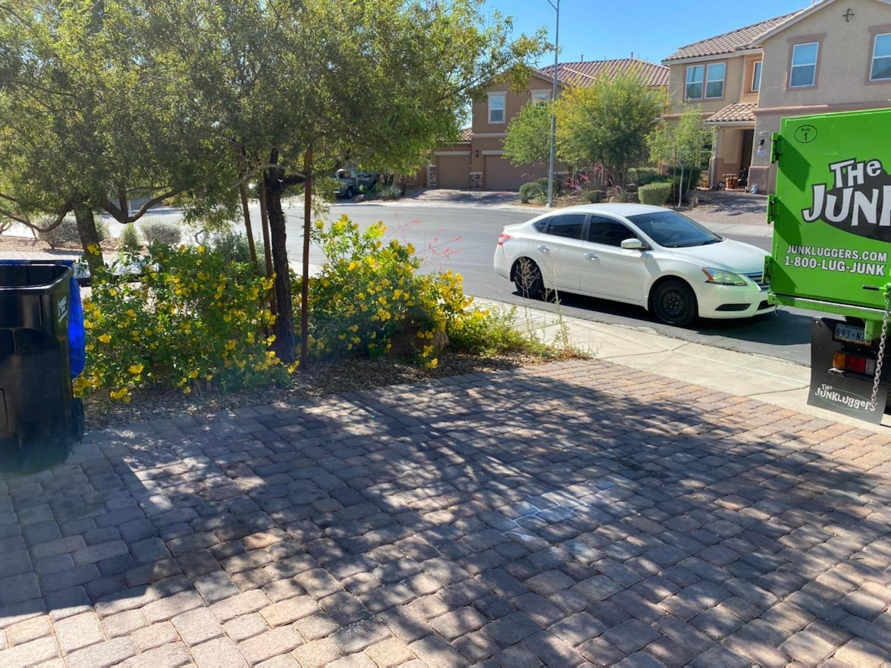 Curbside Cleanup in Henderson, NV - After Photo