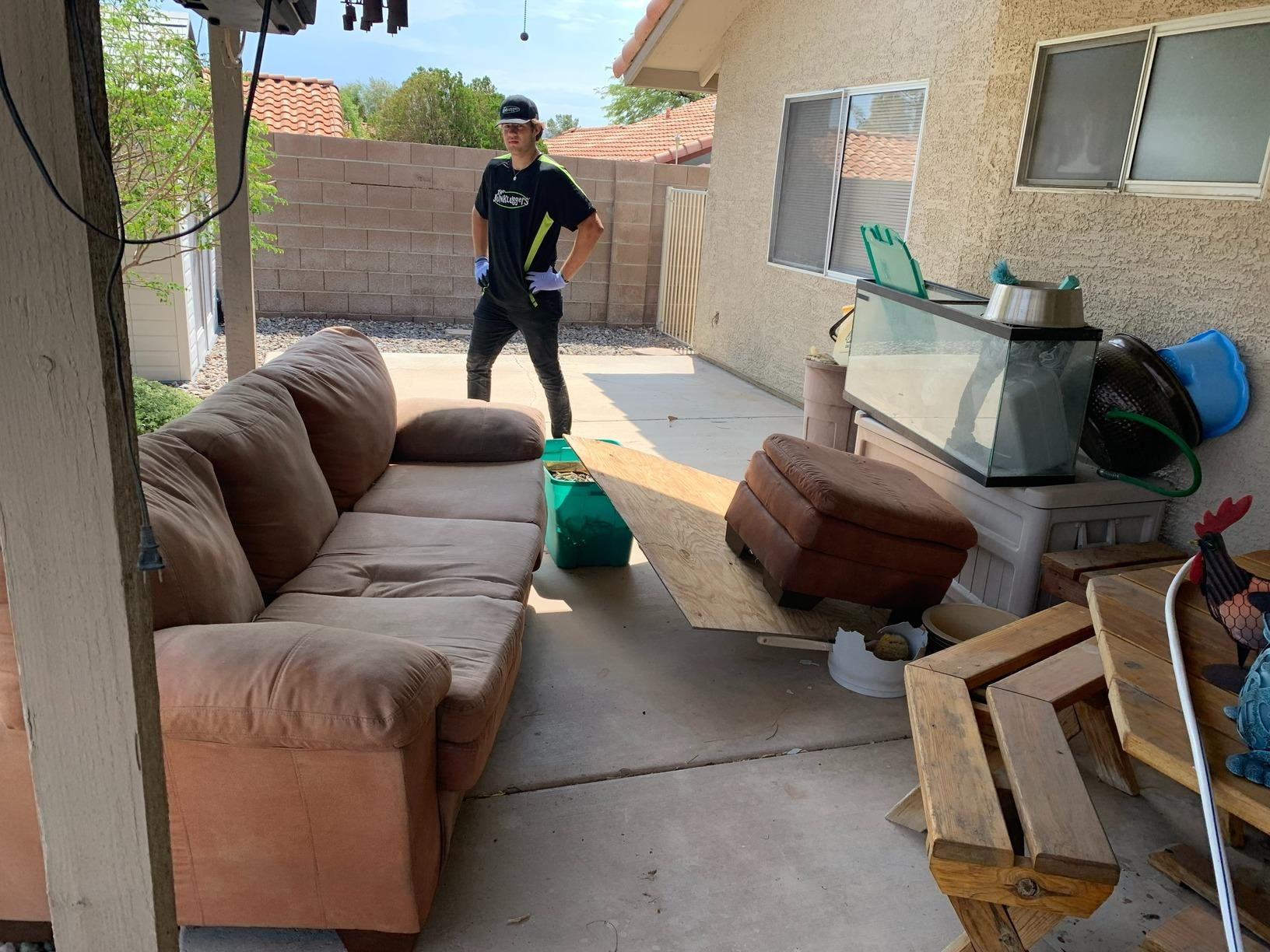 Junk Removal in Henderson, Nevada - Before Photo