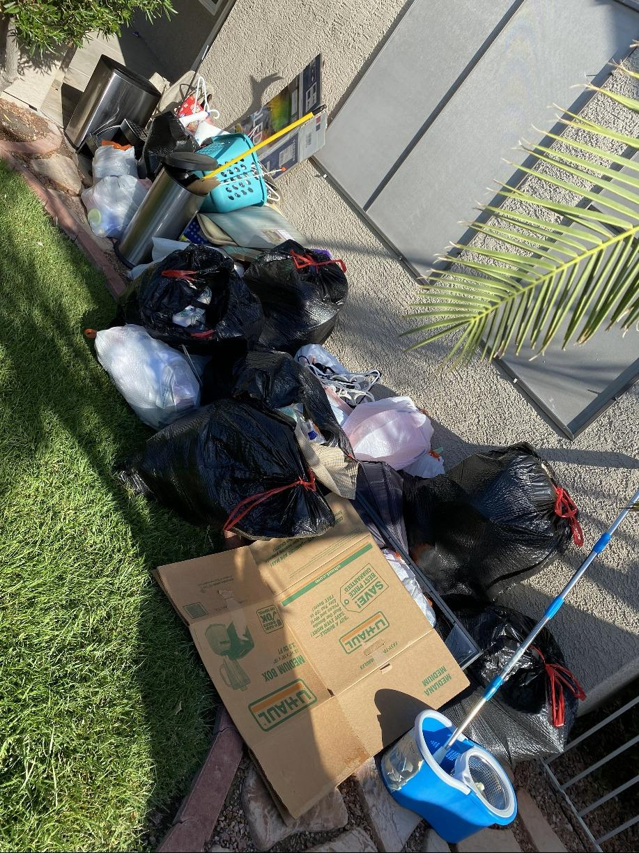 Decluttering in Henderson, NV - Before Photo