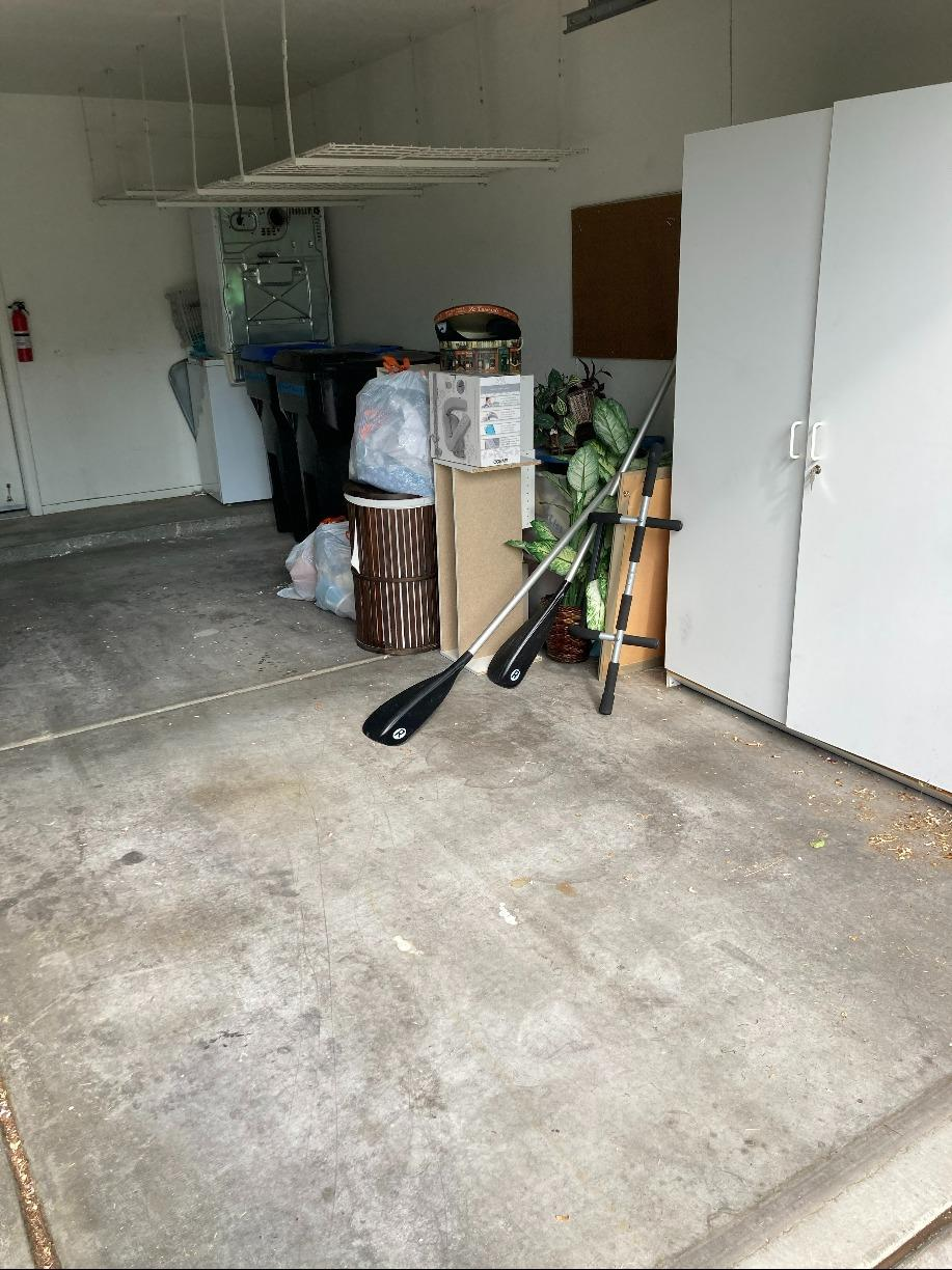 Garage Cleaning in Anthem Nevada - Before Photo