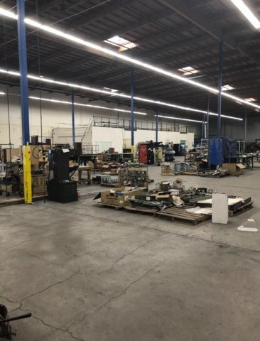 Warehouse Cleanout, Las Vegas, NV - Before Photo
