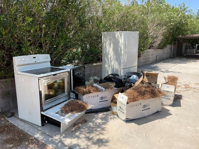 Appliance Removal in Las Vegas, NV - Before Photo