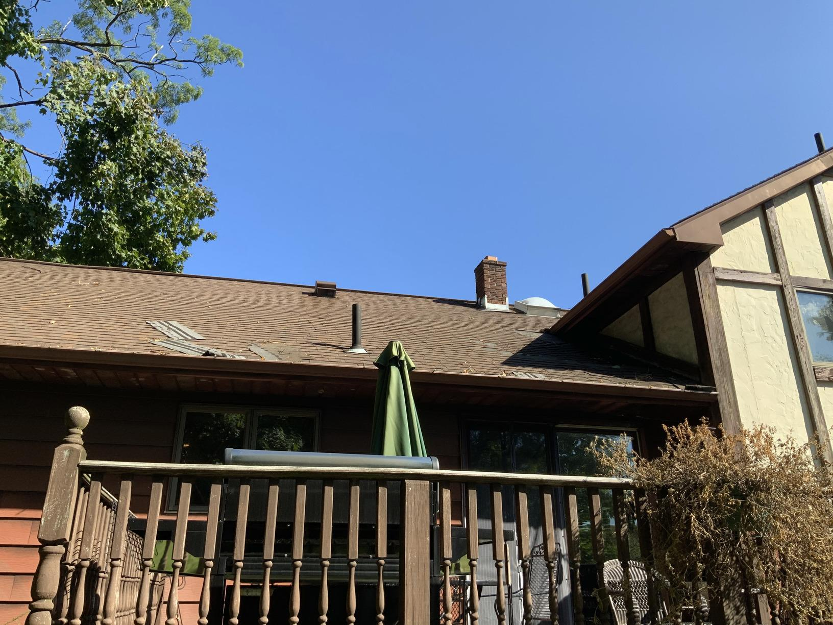 Roof Replacement in New Windsor, NY - Before Photo